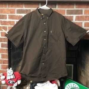 Browning Mens XXL Shirt Short Sleeve Button Up